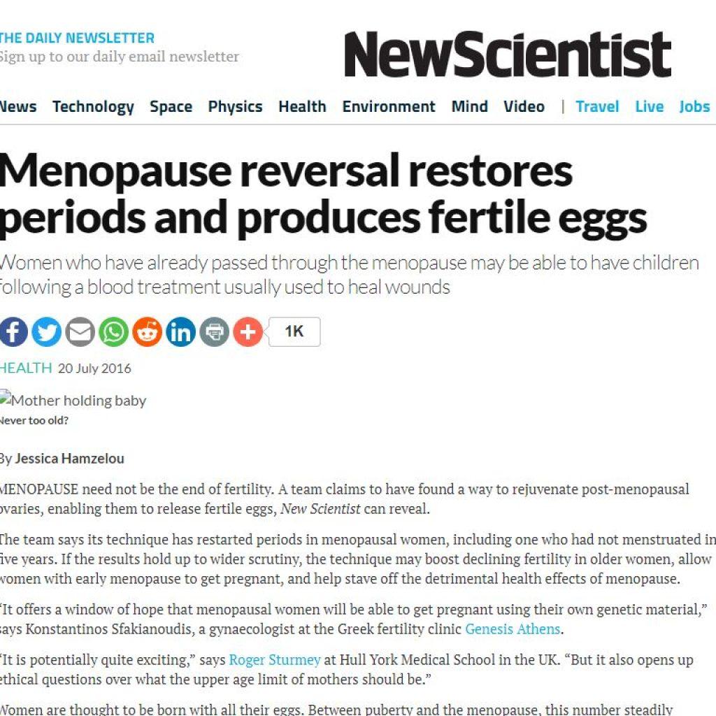 Menstruatie dupa 1an si jumatate de menopauza